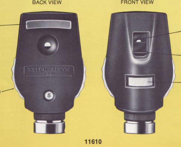 11610: 11610 Ophthalmoscope